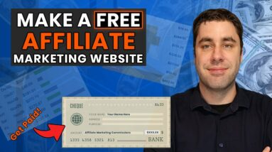 How To Create A FREE Affiliate Marketing Website In 2021 (Step by Step For Beginners)
