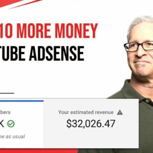 How To Make  X10 MORE Money on YouTube With YouTube Adsense + YouTube Monetization 2021