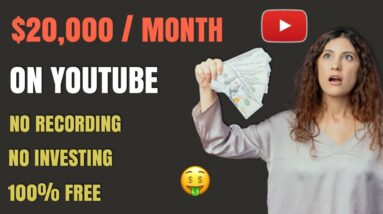 $20,000 Per Month On YouTube Without Making Videos - Make Money Online