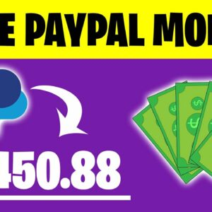 App That PAYS YOU PAYPAL MONEY ($450+) | Make Money Online Apps 2021