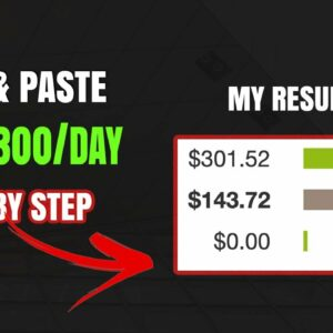 Make From $0 To $300 Per Day On Clickbank With Copy And Paste - Affiliate Marketing For Beginners