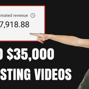 How to Make $35,000 on YouTube WITHOUT Making Videos Yourself From Scratch In 2021