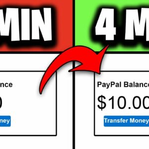 Earn $10 Every 4 Minutes In PAYPAL MONEY FAST! (Make Money Online)