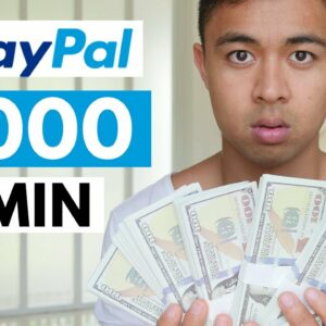 Earn $1000 In 30 Min With PayPal (Free PayPal Money)