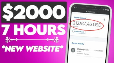 Earn $2000/Day Using This NEW Website! (Make Money Online 2021)