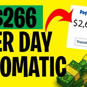 Earn $266 PER DAY COPY & PASTING (FREE and EASY) | Make Money Online