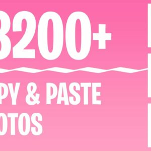 Earn $3200+ With FREE Done For You Photos (Make Money Online)