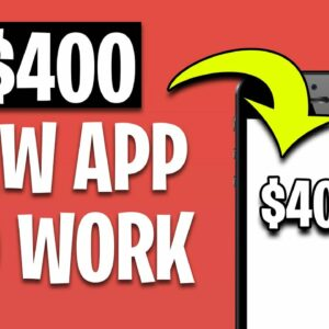 Earn $400+ EVERYDAY just by using this App! (Make Money Online 2021)
