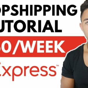 AliExpress Dropshipping For Beginners 2021 | Make Money Online (Step by Step)