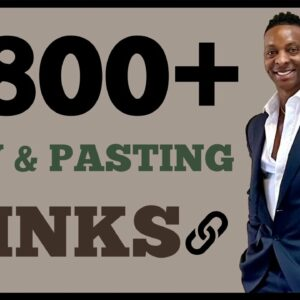 Make $800+ A DAY Online For FREE Copy & Pasting Links! (make money online) How To Make Money Online