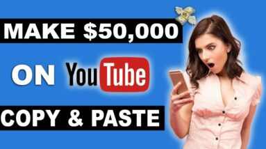 How To Make $50,000+ On YouTube Without Making Videos (New Method 2021)