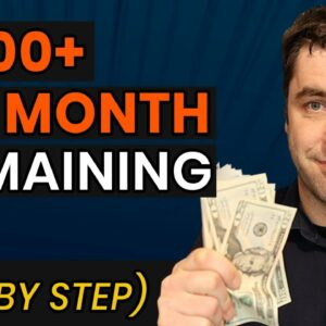 How To Make $1500+ Per Month & Make Money With Domaining! (Domain Flipping Tutorial)