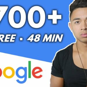 Make $700+ A Day For FREE With Google! | Make Money Online