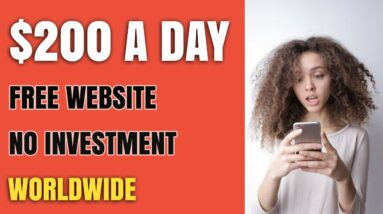 (New) This FREE Website Makes You $200 a Day (Make Money Online)
