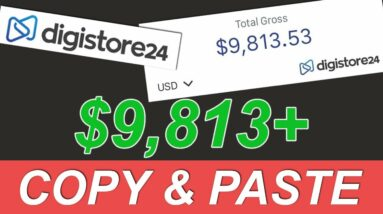 Make $250/Day in 45 Minutes With Digistore24 Affiliate Marketing (Make money online)