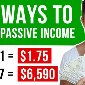 30 Passive Income Ideas You Can Use to Build Real Wealth