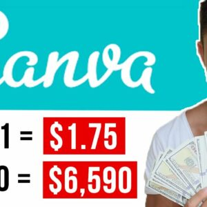 Copy & Paste To Earn $5,000+ With Canva (FREE) | Make Money Online