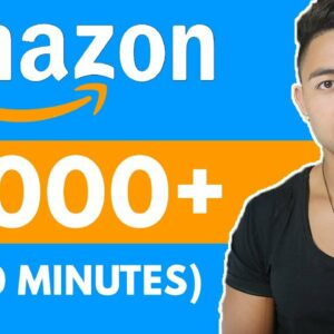 Earn $1000 In 30 Min With Amazon (Free PayPal Money)