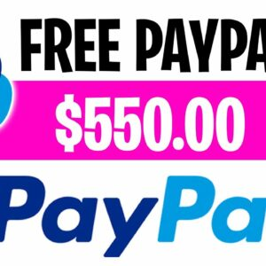 Get Paid $550 Paypal Money Fast And Easy 10 Min! | Make Money Online 2021