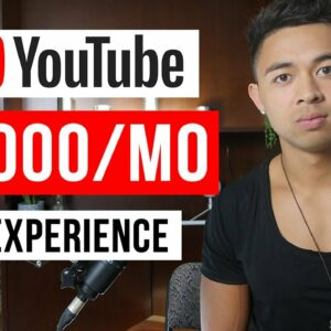 How to Make Money on YouTube (Without a Million Subscribers)