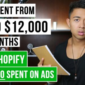 Shopify Tutorial For Beginners   $0 to $12k+ Per Month in 2 Months   FREE Traffic Method