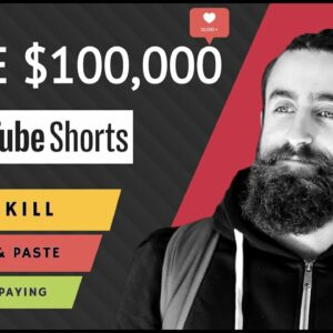How To Make $100,000 With YouTube Shorts Without Making Videos (Step By Step)