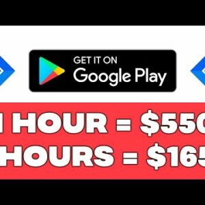 Earn $550 From GOOGLE PLAY! (Get Paid Hourly ✅)