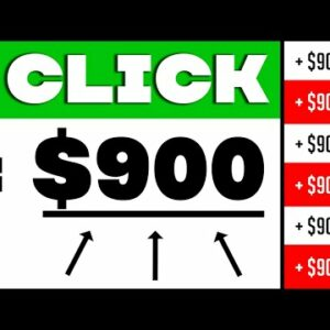 Earn $900 PER DAY For Clicking Buttons (Make Money Online)