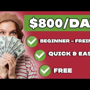 Get Paid $800 PER DAY With FREE BOT (Make Money Online)