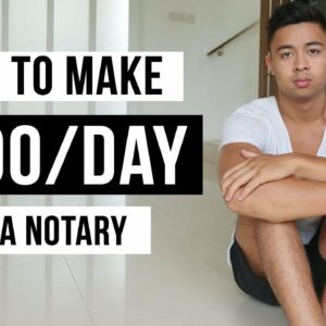 How To Make Money As a Notary in 2021 (For Beginners)