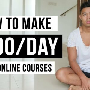 How To Make Money With Online Courses in 2021 (For Beginners)