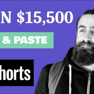 Make $15,550 A Month On YouTube Shorts Without Making Videos