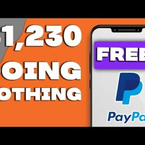 3 Apps That Pay You $1230 In FREE PAYPAL MONEY! (Make Money Online)