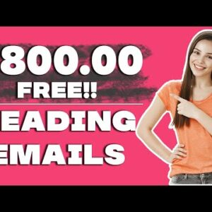 Earn $800 In Free PayPal Money Reading Emails (Make Money Online)