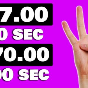 Get Paid $7 Every 10 Seconds For FREE *New Website* (Make Money Online 2021)