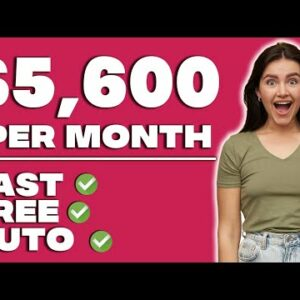 Get Paid $5600 PER MONTH AUTOMATICALLY (Make Money Online)