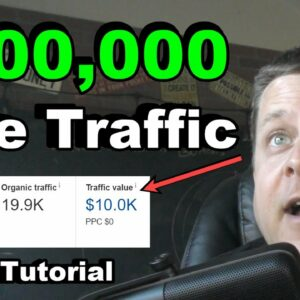 How To Make $100,000 A Year With Free SEO Traffic