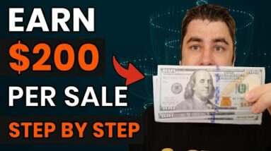 How To Make $200 Per Sale & Make Money Online For Beginners In 2021!