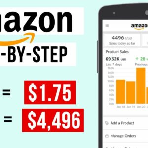 How To Make Money With The Amazon Seller App in 2021 (For Beginners)