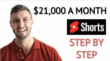 Make $21,000 With Copy & Paste Using YouTube Shorts * Make Money Online *