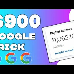 Make Money From GOOGLE ($300+ PER DAY) With New Trick (Make Money Online)