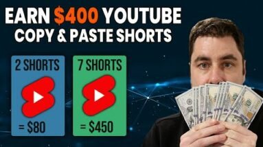 How To Make Money With YouTube Shorts | Copy & Paste Videos Step By Step Tutorial