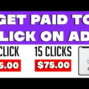 WATCH ADS And EARN MONEY ($5 PER CLICK) | Make Money Online
