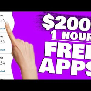 Earn $2,000 Per HOUR Using This FREE APP (New Make Money Online)