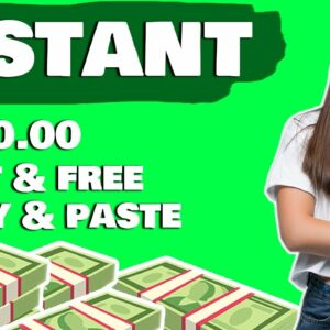 Earn $600 COPY & PASTING Text! (Make Money Online)