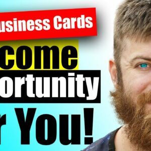 FREE Business Cards AND INCOME OPPORTUNITY