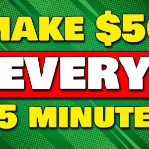 Get Paid $50 EVERY 15 MINUTES Typing CAPTCHA (Make Money Online)