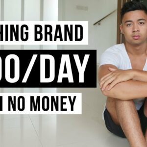 How To Start a Clothing Brand With No Money (In 2021)