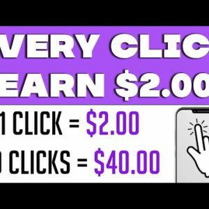 Make $2 EVERY 10 SECONDS For CLICKING (Make Money Online)