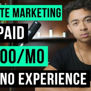 Want to Make Money With Affiliate Marketing? This Video Is For You.